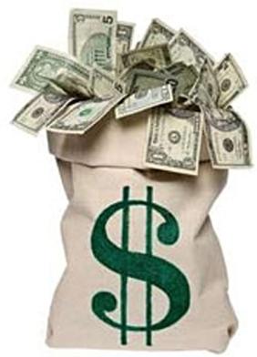 Буквы превращаются в деньги