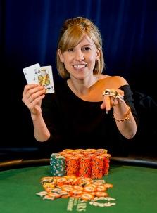 Кристен Бикнелл - победительница женского турнира