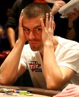 За всю карьеру Хансен проиграл $10,4 миллиона