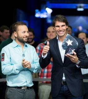 В Праге в благотворительном турнире победил Рафаэль Надаль