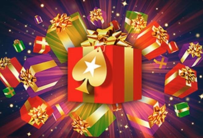 Отпразднуйте Новый год с бесплатными призами более чем на $2,000,000 на PokerStars