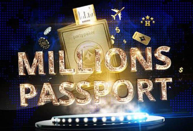 PartyPoker запустил промо-акцию $500,000 MILLIONS Passport