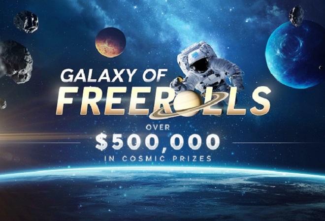 888 Poker запустил промо-акцию Galaxy of Freerolls