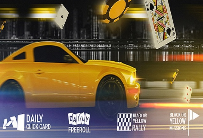 Промо-акция Black or Yellow от Bwin Poker