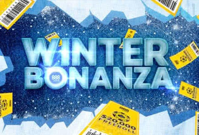 Выиграйте часть от $800,000 с промо-акцией Winter Bonanza на 888 Poker