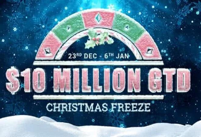 PartyPoker анонсировал онлайн-серию Christmas Freeze