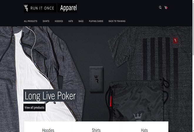 Run It Once вновь открыл онлайн-магазин