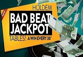 Бэд Бит Джекпот каждые полчаса в Everlast Poker