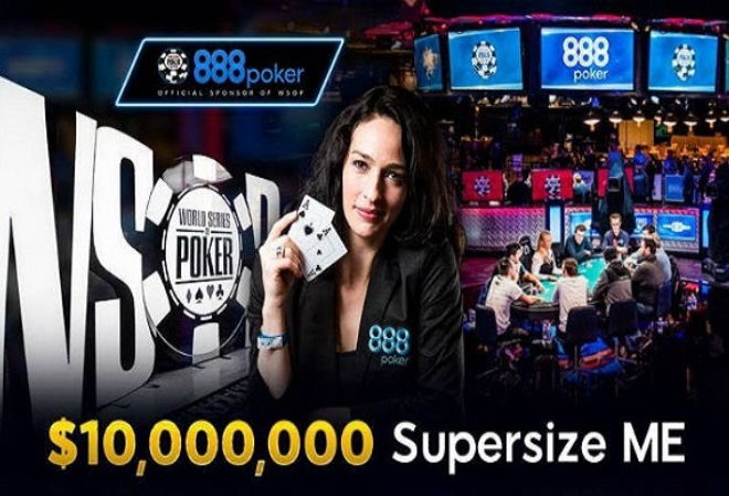 Попадите на WSOP Main Event через сателлиты 888 Poker, и в случае победы покер-рум дополнит выигрыш до $10 миллионов