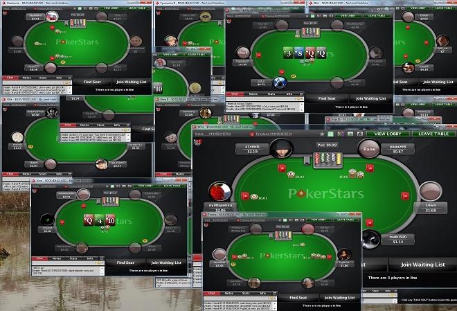 PokerStars ограничил мультитейблинг до максимум четырех столов одновременно