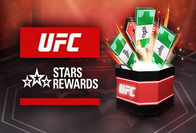 Выиграйте до $25,000 с UFC Stars Rewards