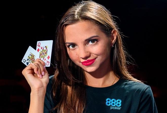 Дарья Фещенко присоединилась к команде 888Poker