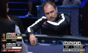 Сивер одурачивает Рейнкемейера: Самая интересная TV раздача в истории покера?