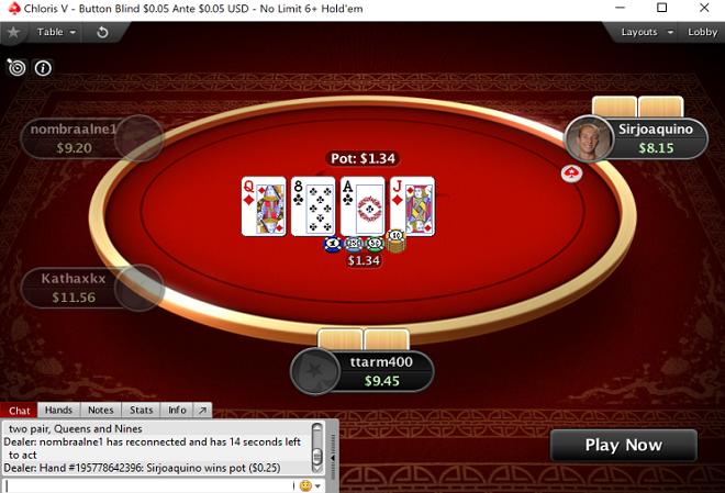 PokerStars запустил 6 плюс холдем на реальные деньги