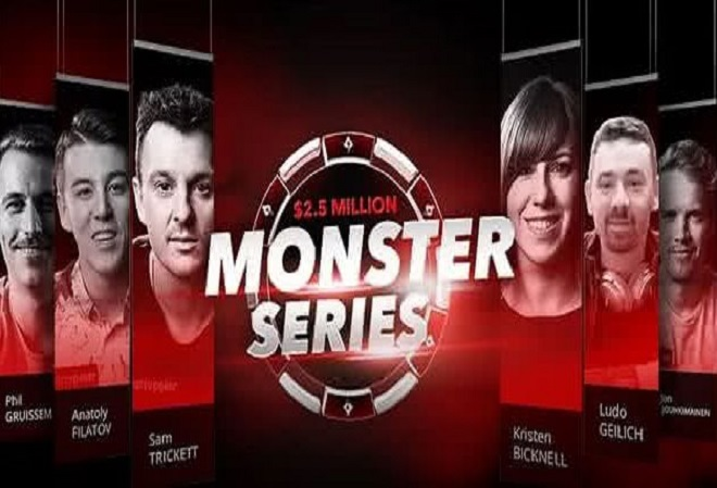 Играйте в фазовых турнирах Monster Series на PartyPoker уже сегодня