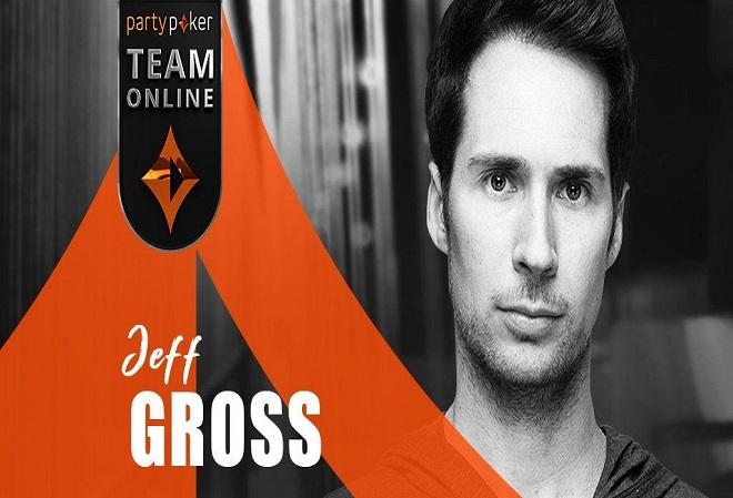 Джефф Гросс ликует отныне он  член команды PartyРoker Team Online. Профи уверен у покерного сайта  большое будущее