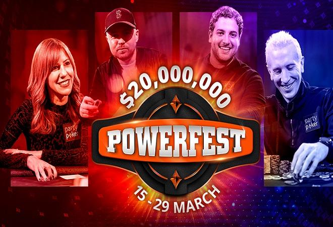 POWERFEST возвращается 15 марта с гарантией в $20 миллионов