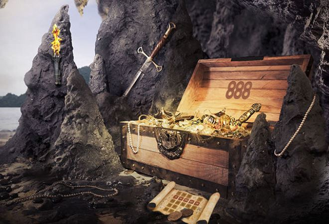 888 Poker запускает акцию Treasure Quest с розыгрышем миллиона долларов