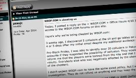 Как служба поддержки 888 Poker рассорила с игроками своего американского партнёра - покер-рум WSOP.com