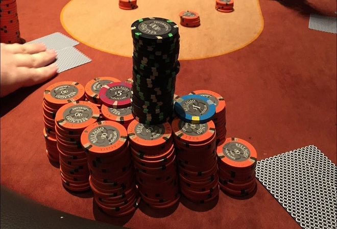 В результате ограбления в покер-руме казино Bellagio ранен полицейский