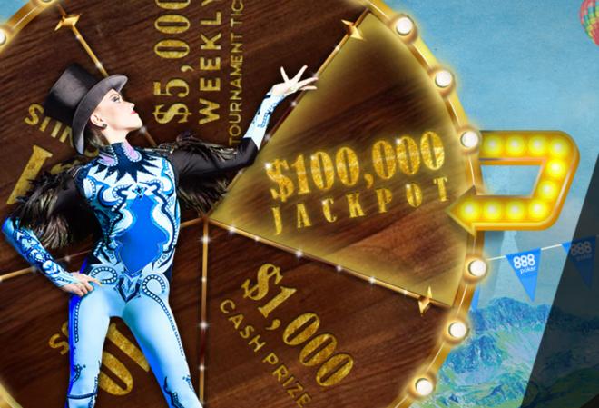 Акция Jackpotland возвращается на 888 Poker
