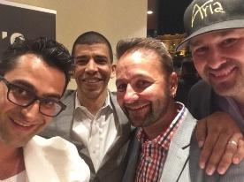Тайгер Вудс и покер-профи провели благотворительный турнир