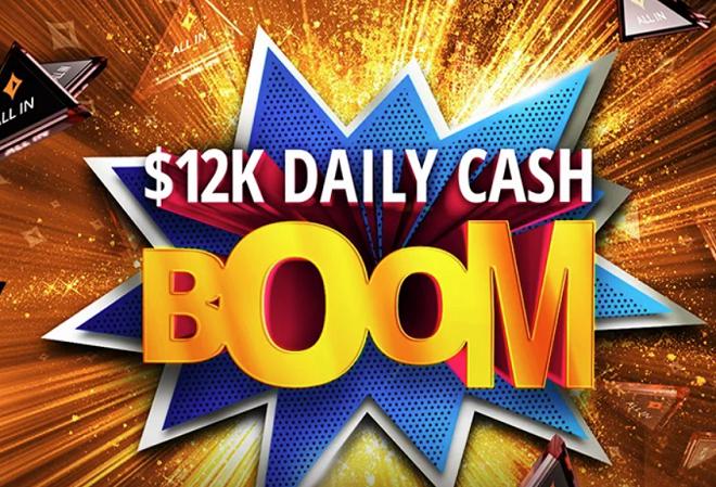 Промо-акция Daily Cash BOOM возвращается на PartyPoker