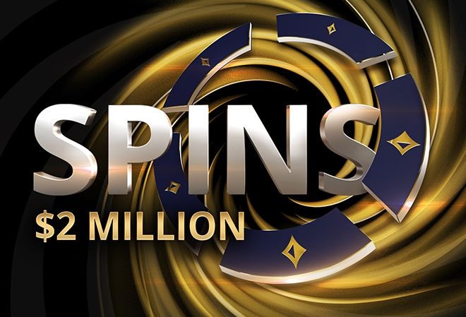 РartyРoker запустил спины с максимальным призом в $2 миллиона