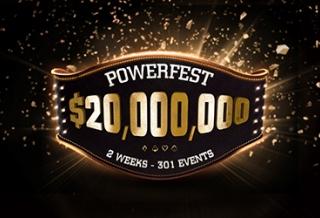 Powerfest возвращается с общей гарантией в $20 миллионов