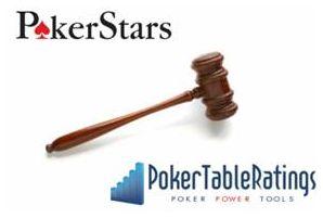 Poker Stars намерен подать судебный иск против Poker Table Ratings