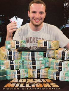 Ами Барер выигрывает финал турнира The 2014 Aussie Millions