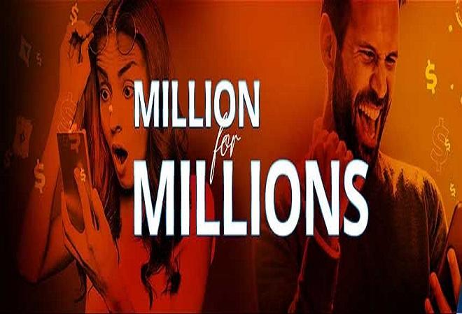 PartyPoker запустил промо-акцию на миллион долларов к турниру MILLIONS Online