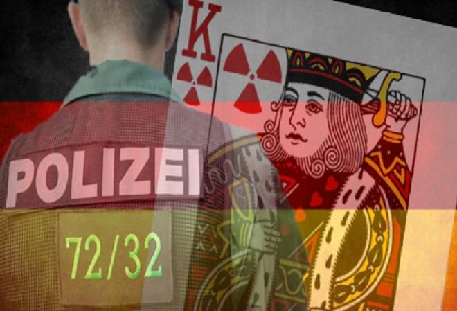 Немецкая полиция расследует эпизод с радиоактивными игральными картами