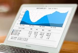Онлайн-трафик в феврале Общий спад
