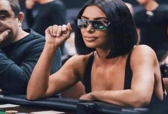 Ким Кардашьян и зеркальные очки  она не одна