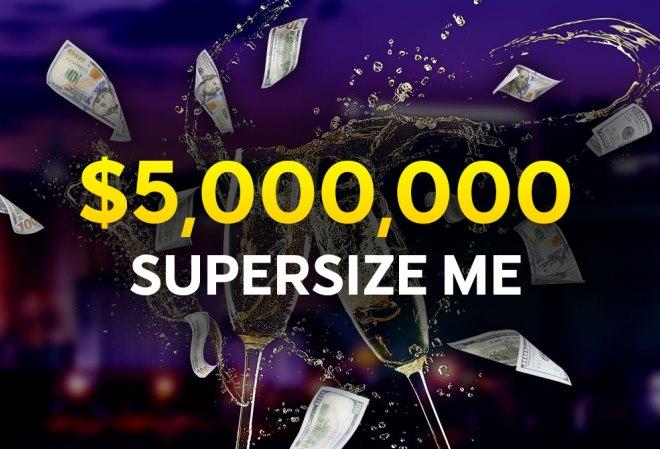 Серия Supersize ME на 888 Poker