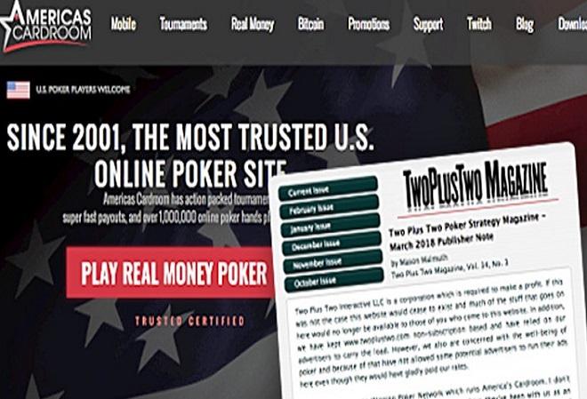 Покерный форум TwoPlusTwo прекратил размещать рекламу сети WPN из-за недавних обвинений в мошенничестве и ботоводстве