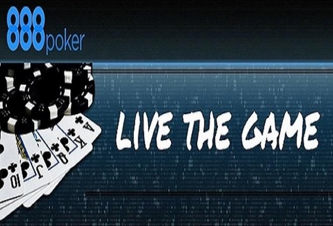 Живи игрой вместе с 888 Poker и прими участие в розыгрыше $1,000,000