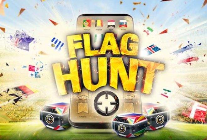 Чемпионат мир по футболу вместе с акцией FlagHunt на PokerStars