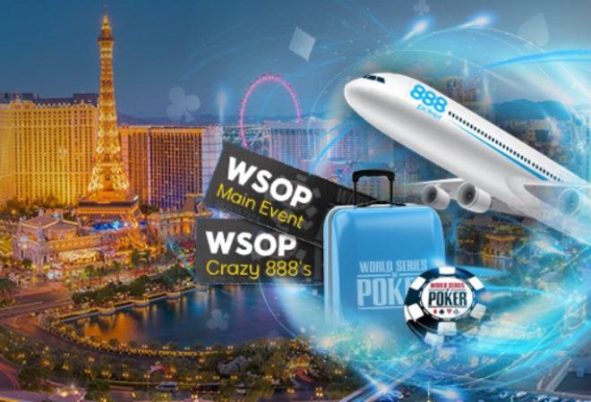 888 Poker идет олл-ин, разыгрывая пакеты для поездки в Вегас, но только до 13-го июня