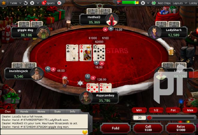 Большой рождественский апгрейд софта PokerStars уже скоро