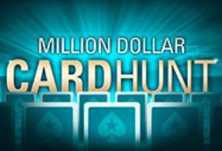 Акция Million Dollar CardHunt от PokerStars
