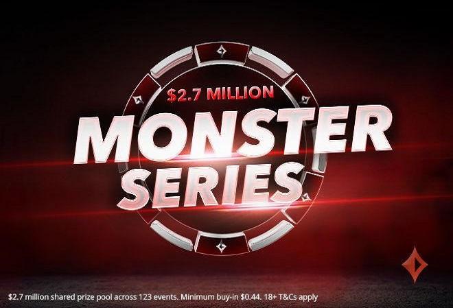 Monster Series возвращается на PartyPoker в воскресенье