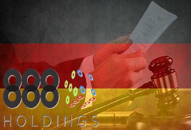 Компания 888 Holdings подала апелляцию на соответствие постановления немецкого суда нормам конституции