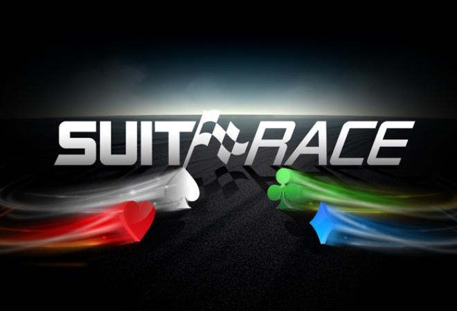 Выигрывайте дополнительные награды в SuitRace на PokerStars