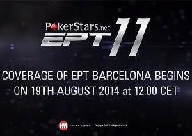 EPT11 Barcelona Итоги первого дня 50,000 Super High Roller и трансляция дня 2 c 1400 МСК