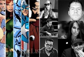 10 героев покера - супергероев Marvel