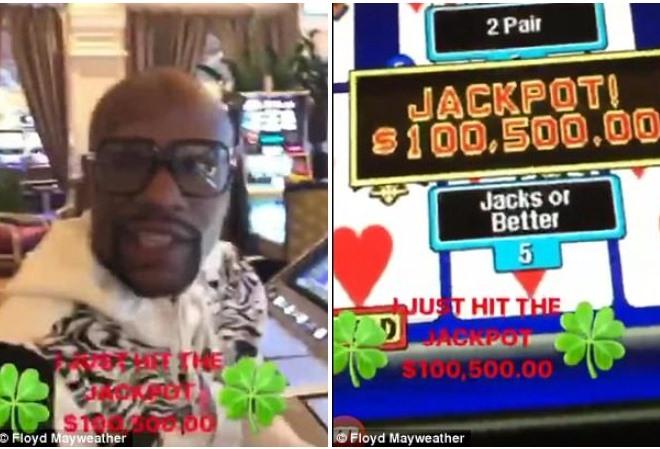 Флойд Мейвезер сорвал крупный куш в казино Лас-Вегаса