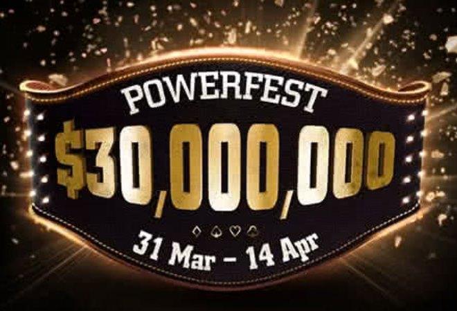PartyPoker опубликовал расписание апрельской Powerfest