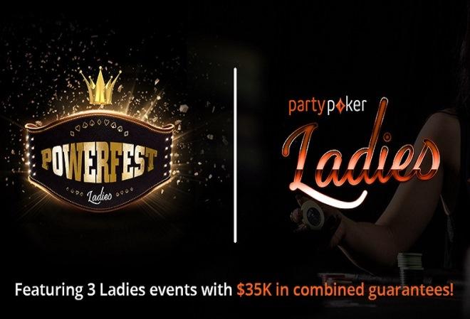 PartyPoker предлагает возможность утроить выигрыши в женских турнирах PowerFest